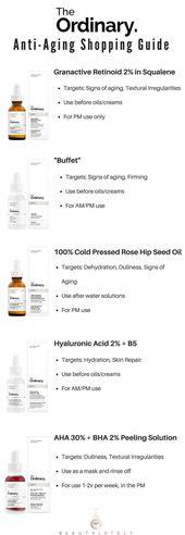 Das Gewöhnliche: Anti Aging Regime Guide – Good Skin