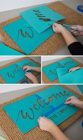 OMG, These Handmade, Personalised Pure Door Mats Are SO Cute!