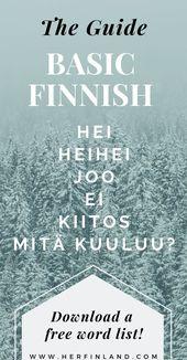 Fast Information to Finnish Language Fundamentals