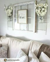 67 Trendy Farmhouse Decor Above Couch Family Rooms