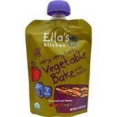 Ella's Kitchen, Cuit au four avec légumes, très savoureux, 4,5 oz (127 g) (Article discontinué)   – Vitamins For Women, Supplements, Sport Food