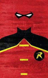 Affiches minimalistes de tremendous héros