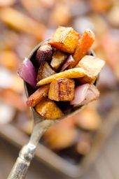 Balsamic Dijon Roasted Root Vegetables – Healthy Side