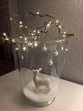 Hirsch im Glas #Glas #Geschenke #Malen #Kuchen #Dekodieren #Dekorieren – advend