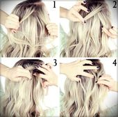 DIY Hairstyles: 40 Tutorials in a Short Time, #DIY #diyhairstyleslongbraids #Hairstyles #Short # ...