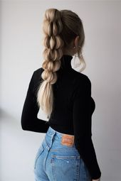 Unique Braided Ponytail Hair Tutorial Wow, it has been a long time since I last shared some unique braided hairstyles. I initially came across this br...