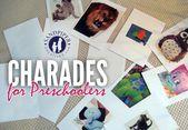 Picture Charades für Kinder im Vorschulalter – Crafts & Projects