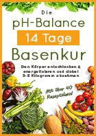 pH-Balance 14 Tage Basenkur Ebook   – Gesundheit / gesunde Ernährung