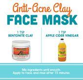 Bentonite Clay + Apple Cider Vinegar