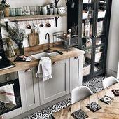 Heute schlage ich vor, Sie entdecken 21 Küchen mit Dekoration