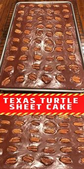TEXAS TURTLE SHEET CAKE – Seite 2 – Laura Rezepte   – Desserts