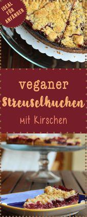 Cozimento vegano: crumble de cereja   – Vegan backen