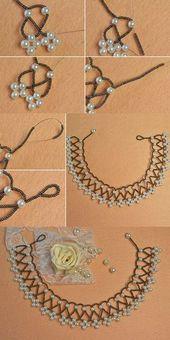 Wie die Perlenkette? Das Tutorial wird von LC.Pandahall.com veröffentlicht #pandahall #perlen…
