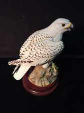 Vintage Andrea By Sadek Gyrfalcon Bird Figurine 6728 Rare With Images Birds Vintage Figurines