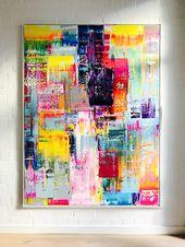 Paul Schrader #2, 200×150 cm, Acryl auf Canvas