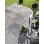Dalle Beton Airial Ivoire L 60 X L 40 Cm X Ep 50 Mm Avec Images Dalle Beton Dalle De Patio Granit