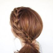 Hair Romance – braided side ponytail tutorial 2 #braidedsides
