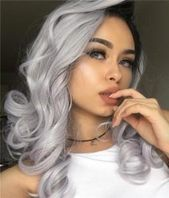 Peruca Preta, Ondulado, Preto, Ondulado, Sabrina, Sabrina   – medium Long hair