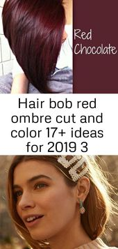 Hair bob red ombre cut und color 17+ ideas for 2019 3