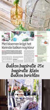 Balkon Inspiratie   25x Inspiratie – Klein Balkon Inrichten – Home Design – Balcony