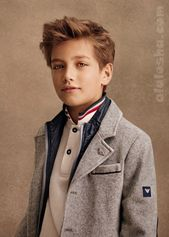 ALALOSHA: VOGUE ENFANTS: #Armani FW14 / 15 boys collection #junior #kinderklei