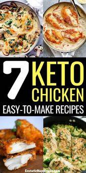 Ketogenic Diet – Plan de repas pour 7 jours de régime cétogène
