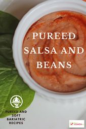 Pureed Salsa and Beans
