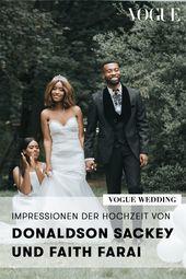 Impressionen Der Hochzeit Von Donaldson Sackey Und Faith Farai Hochzeit Brautkleid Designer Braut