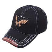 Yfancy sun hat men baseball cap dad hat embroidered denim cap unisex sports travel foldable hat – Products