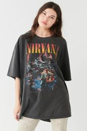 Nirvana Unplugged T-Shirt Kleid – Klær