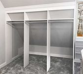 Working With Sloped Ceilings in the Closet
