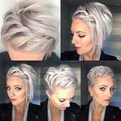 10 belles coiffures courtes modernes pour les femmes   – Kurze Frisuren