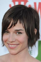 Renée Felice Smith Straight Sexy Short Layer Synthetic Hair Capless Wigs 12 Inches