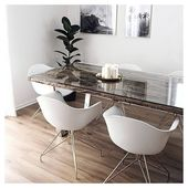 Moda Armchair Plastic White Black Eames DAR Chair Style