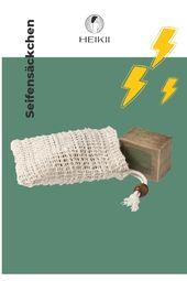 Seifensäckchen aus 100% Sisal gefertigt – Sisal ist eine schnell nachwachsende & robuste Naturfaser