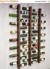 Wein Rack 16 Flaschenleitern – Set von 3