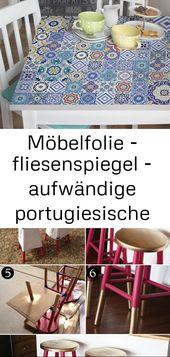 Möbelfolie – fliesenspiegel – aufwändige portugiesische fliesen – möbel klebefolie 6