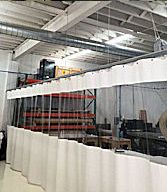 Industrial Curtain Walls In 2020 Industrial Curtains Painted