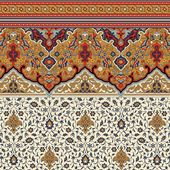 Wallpaper – Victorian Persian Fringe Frieze and Wall – Dollhouses and More
