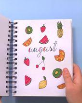 DIY Cuadernos Doodling Ideas For Your Summer Journal!