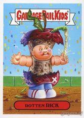 Http Geepeekay Com Gallery 2k15s1 Mascot Html Garbage Pail Kids Cards Garbage Pail Kids Kids Stickers