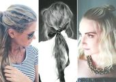 A Lazy Girl's Guide To Hair: 15 Quick And Easy Hairstyles For The Girl On The ...