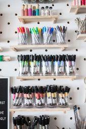 So richten Sie eine Näh- und Bastelwerkstatt ein – Tipps und Muster zur Inspira… – Atelier