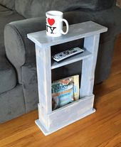 Skinny Side Table, Mini Side Table, Apartment Deco…