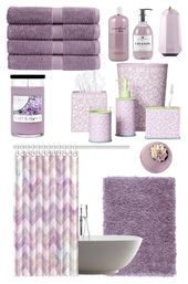 Lavender Bathroom Https Dianaevans Topwomentrends Com P