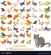 Cat cions Lizenzfreies Vektor-Bild – VectorStock, #Affiliate, #Royalty, #cions …