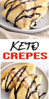 Keto-Crepes, auf die Sie nicht verzichten können! {Easy} Low Carb Keto Rezept für die …