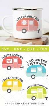 accessories #accessories It's time to get your camp on! This Vintage Camper SVG …