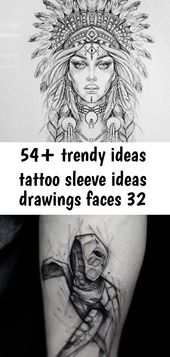 54+ trendige Ideen Tattoo Hülle Ideen Zeichnungen Gesichter 32