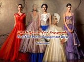 15 Top Designer Indian Engagement Dresses for Brides